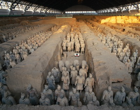 Terra Cotta Warriors and Horses