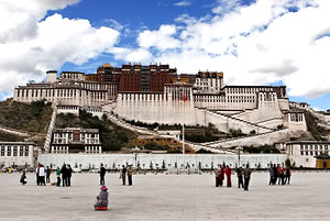 The Potala Palace Lhasa Tibet