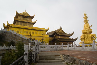 Mt.Emei is one of four Buddhist holy mountain in China