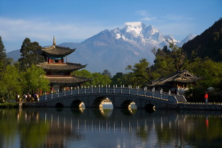 Far View Lijiang Jade Dragon Snow Mountain