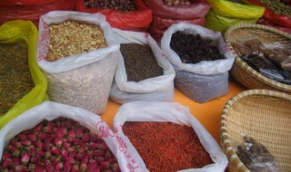 Local Bazar Stall Khotan,Xinjiang