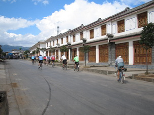 Biking in Yunnan,China