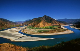 First Bend of the Yangtze River,Yunnan