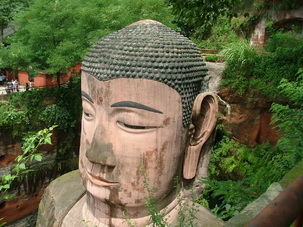 Leshan Grand Buddha,Sichuan,China