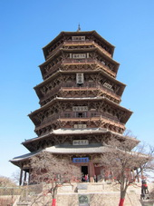 Wooden Pagoda,Shanxi,Northern China