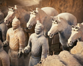 Terra Cotta Warriors and Horses,Xian,China