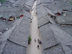 Langzhong Ancient Town,SW China
