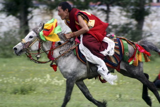 Horse Riding in Kham,West Sichuan