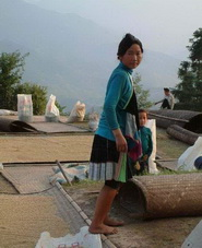 Qingman short-skirt Miao Village,Guizhou