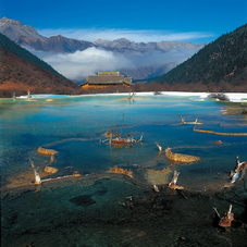 Huanglong National Park,Sichuan,China