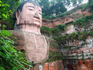 Leshan Giant Buddha,Sichuan,China