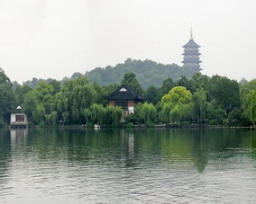 West Lake,Hangzhou,China