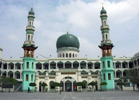 Xining Dongguan Mosque,Qinghai,China