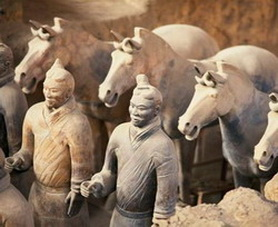 Xian Terra Cotta Warriors and Horses