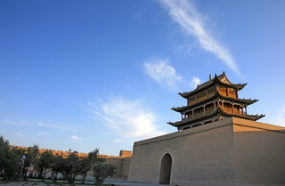 Jiayuguan Tower,China