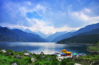 Heavenly Lake,Urumqi,Xinjiang