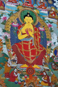 Thangka Paiting,Lhasa,Tibet