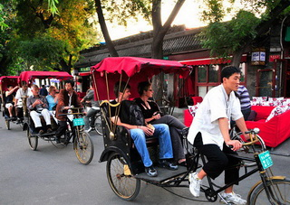 Hutong tour on Rickshaw in Beijing