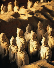Terra Cotta Warriors,Xian,China