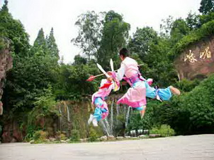 Chinese Kung Fu Emei Style,Sichuan