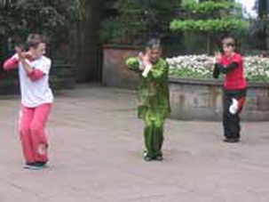 Chinese Kung Fu study in Sichuan,China