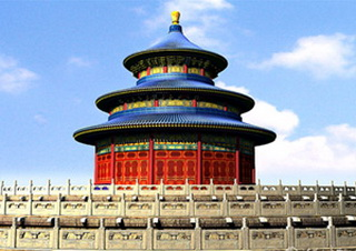 Culture visit to the Temple of Heaven in Beijing