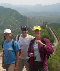 Walking tour on the Great Wall of China