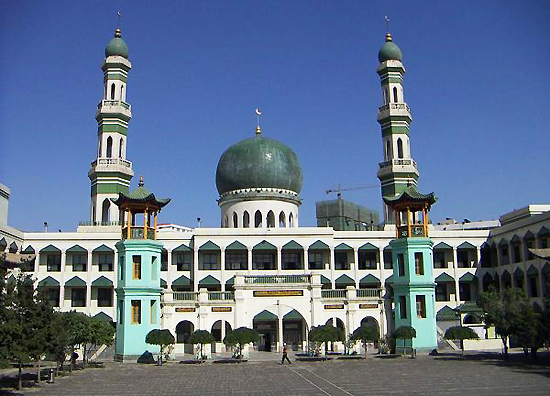 Dongguan Grand Mosque, one of the 'top 10 attractions in Qinghai, China' by China.org.cn.