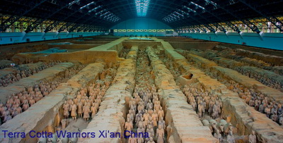 Terra Cotta Warriors Xian,China