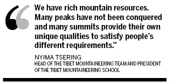 Tibet gears up for new climbing season
