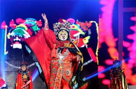 Face-Changing Show Sichuan Opera