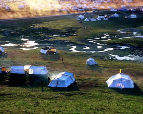 Tent City in Kham