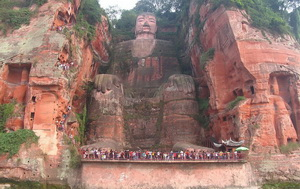 Leshan Grand Buddha, Sichuan,China