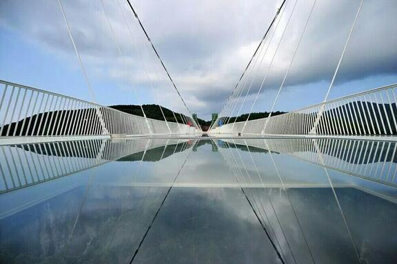 Glass Bridge in China,Unique China Journey