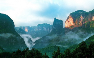 Natural Wonders of Zhangjiajie and Yellow Mountain