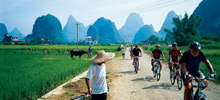 Scenic Guilin and Yangshuo Cycling