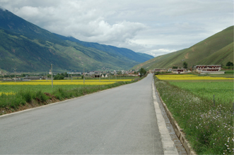 The Sichuan - Tibet Highway